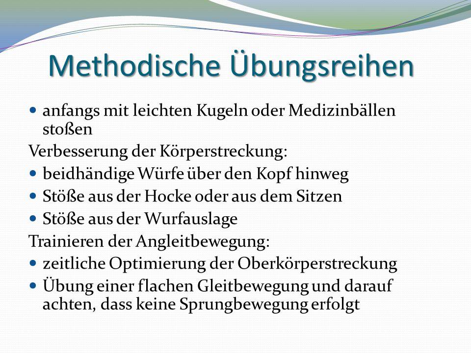 Methodische Übungsreihen