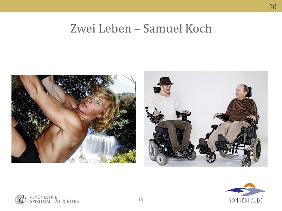 Zwei Leben – Samuel Koch