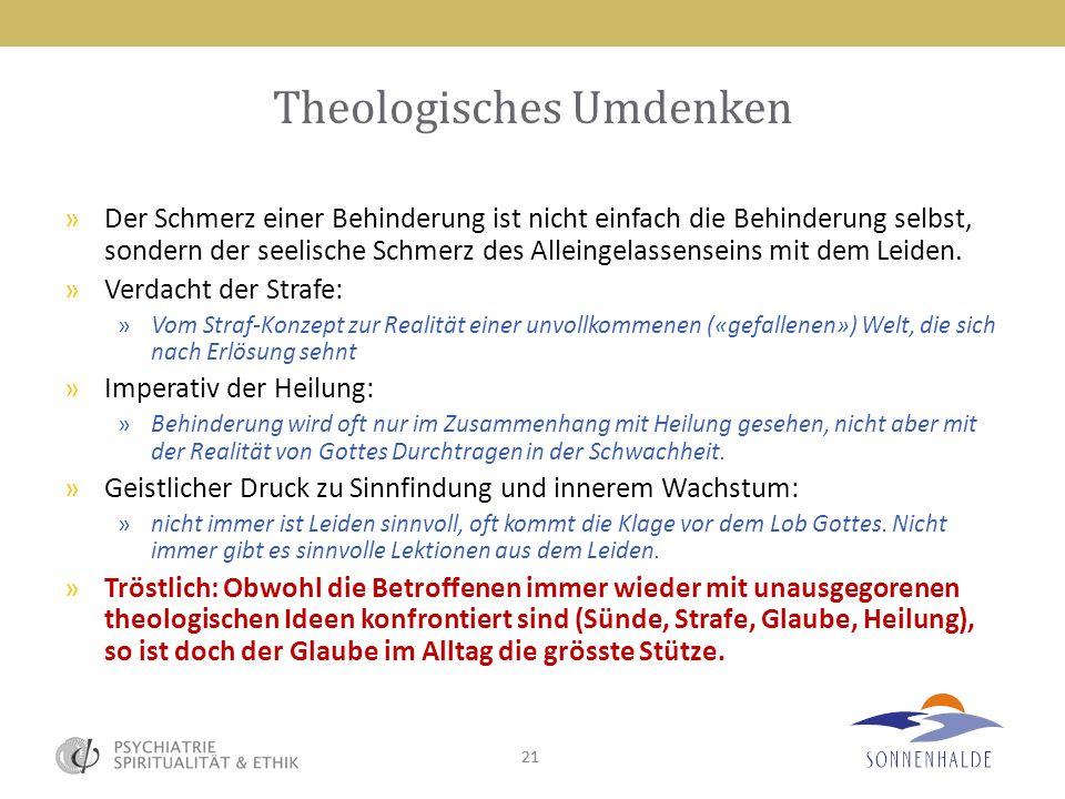 Theologisches Umdenken