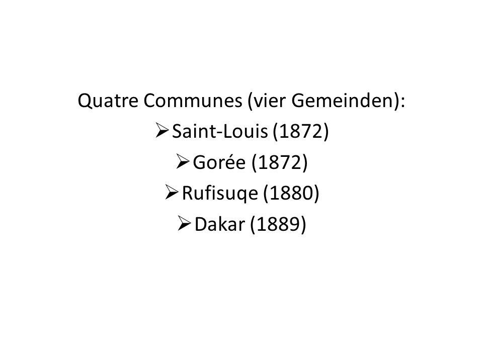 Quatre Communes (vier Gemeinden):