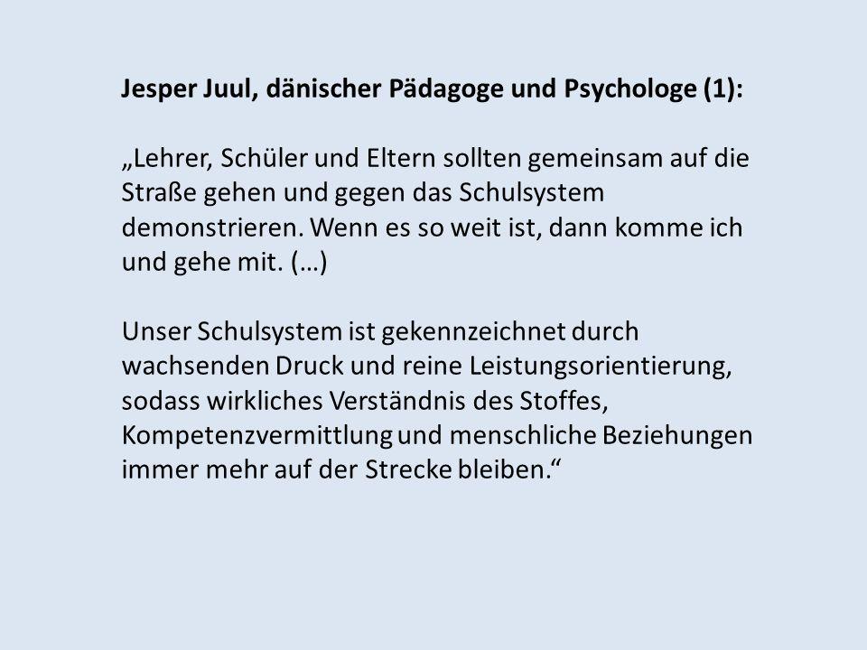 Jesper Juul, dänischer Pädagoge und Psychologe (1):