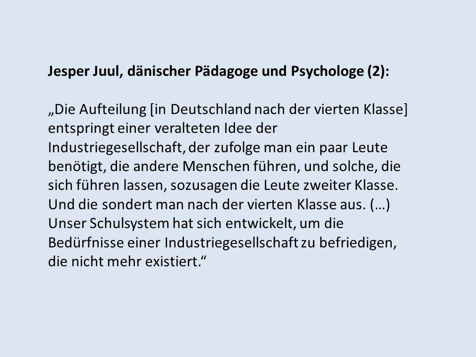 Jesper Juul, dänischer Pädagoge und Psychologe (2):