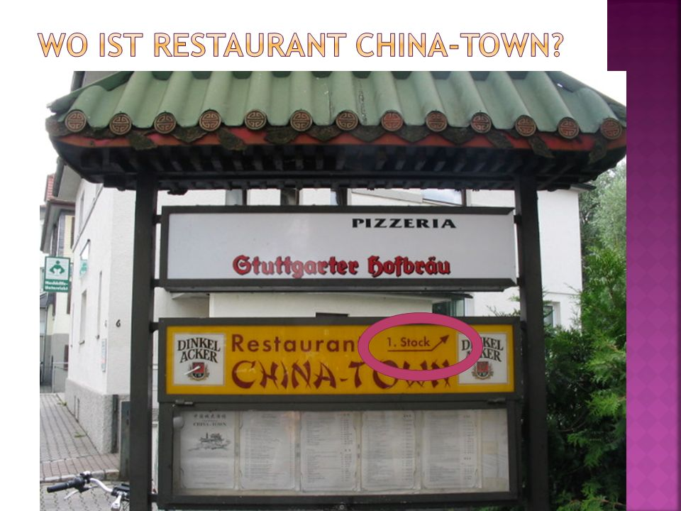 Wo ist Restaurant China-town