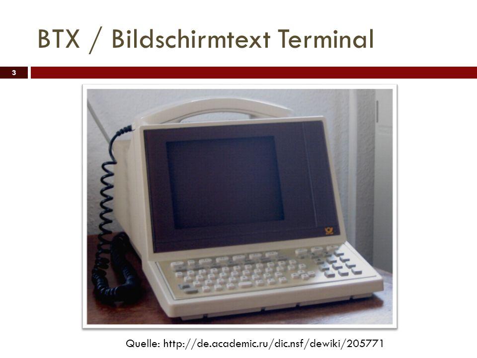 BTX / Bildschirmtext Terminal