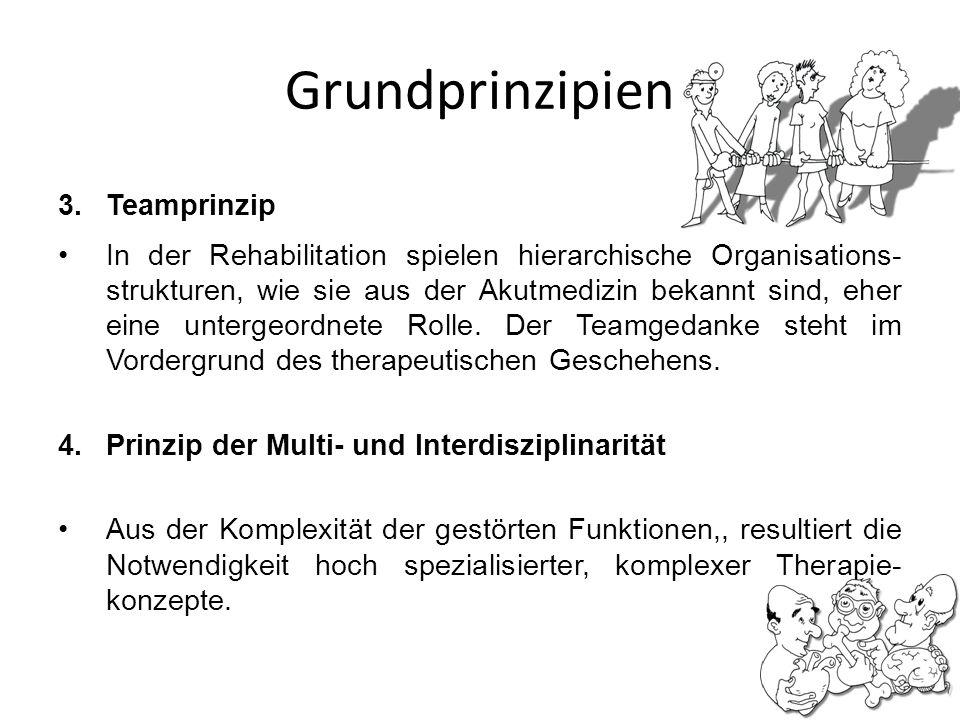Grundprinzipien Teamprinzip