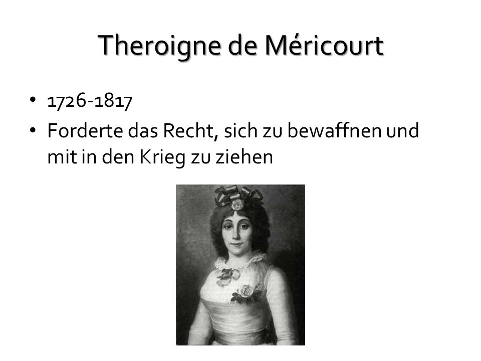 Theroigne de Méricourt