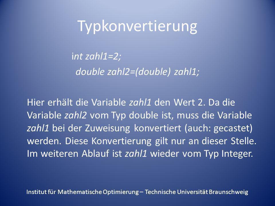 double zahl2=(double) zahl1;