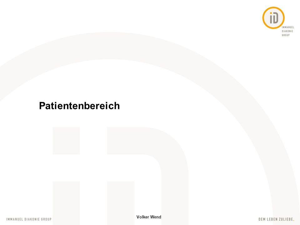 Patientenbereich