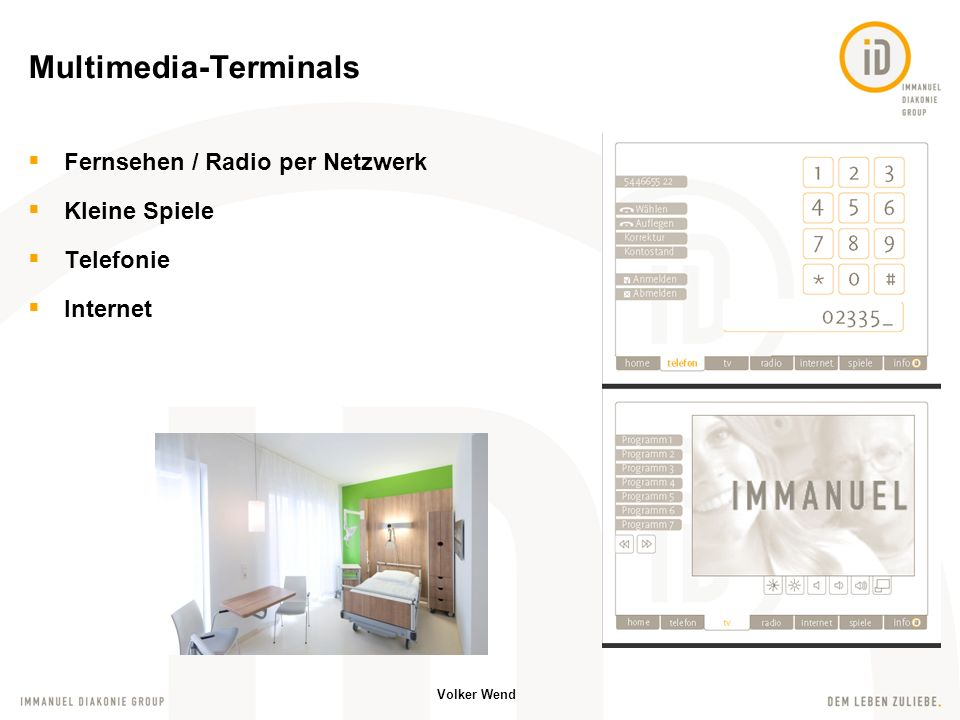 Multimedia-Terminals