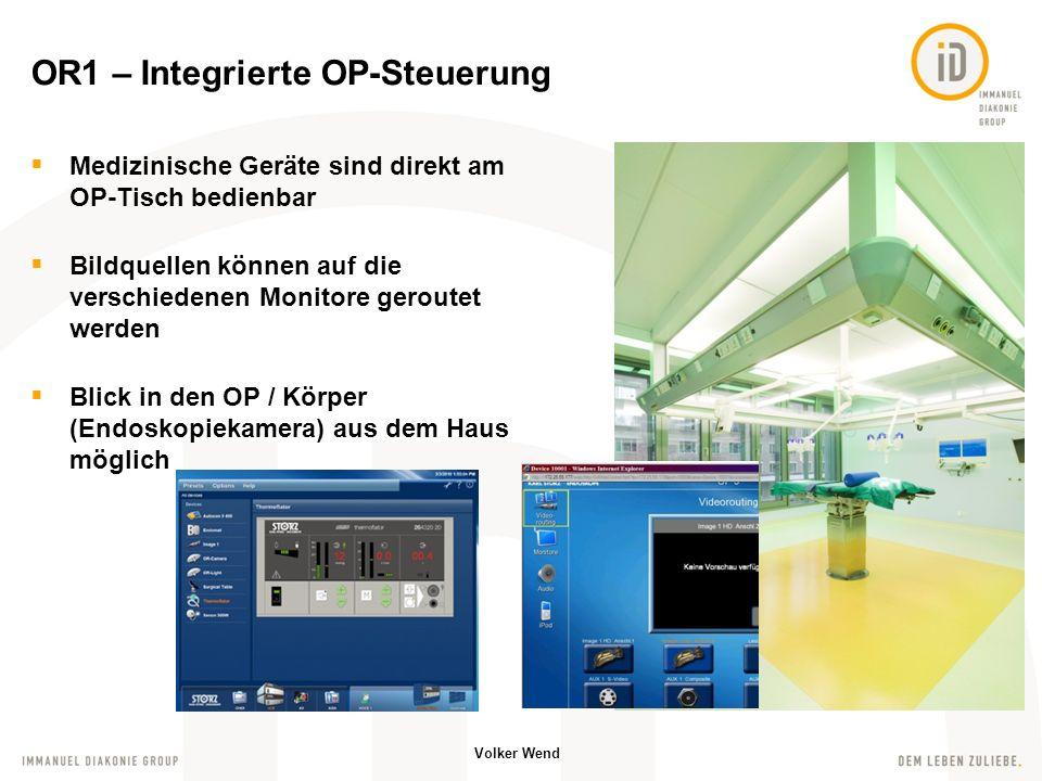 OR1 – Integrierte OP-Steuerung