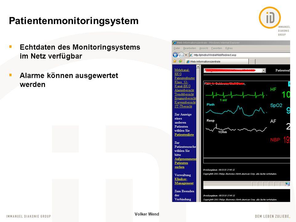 Patientenmonitoringsystem
