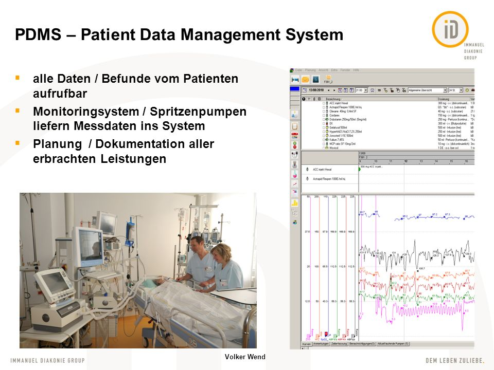 PDMS – Patient Data Management System