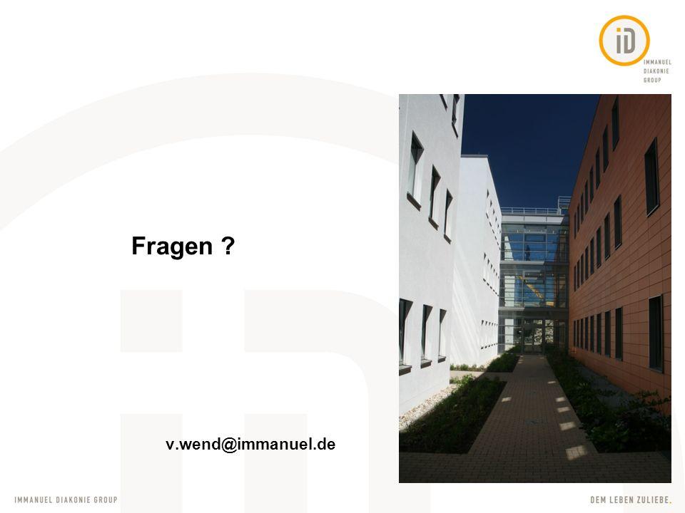 Fragen v.wend@immanuel.de