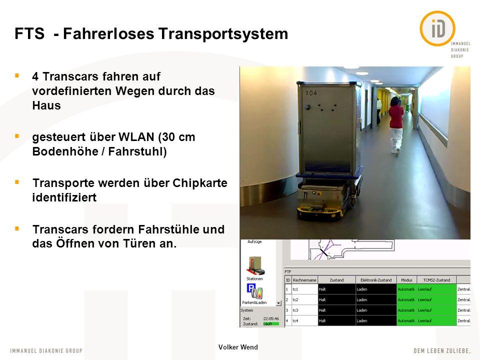 FTS - Fahrerloses Transportsystem