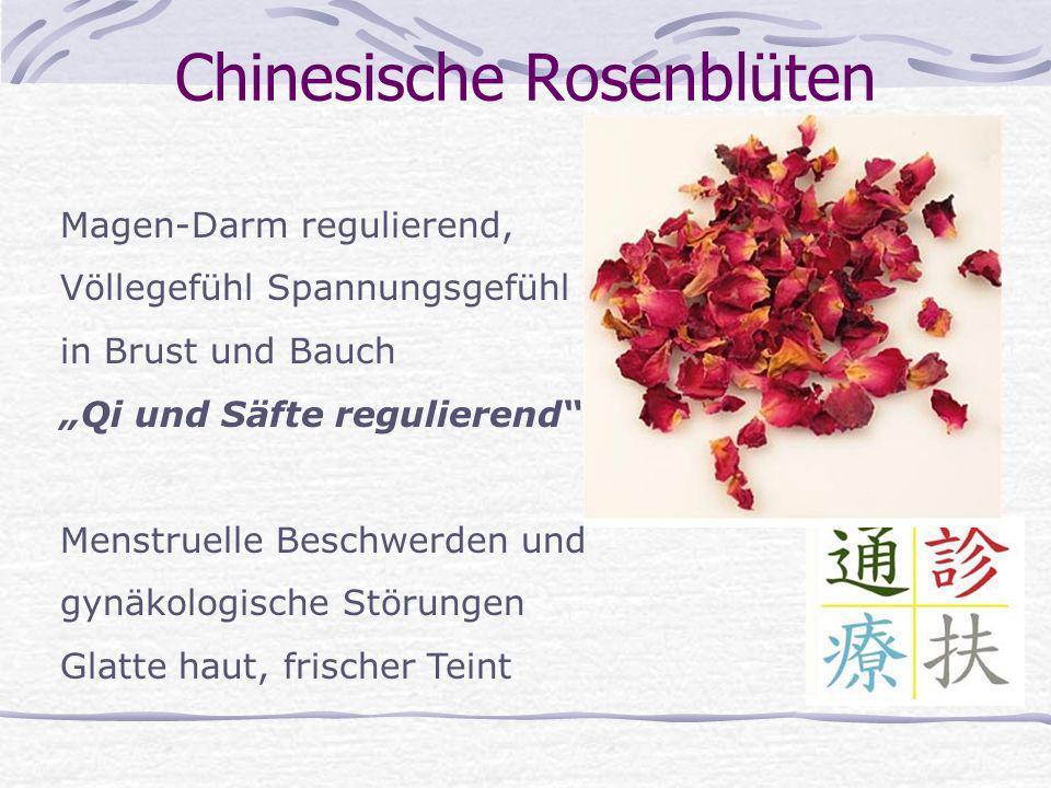 Chinesische Rosenblüten