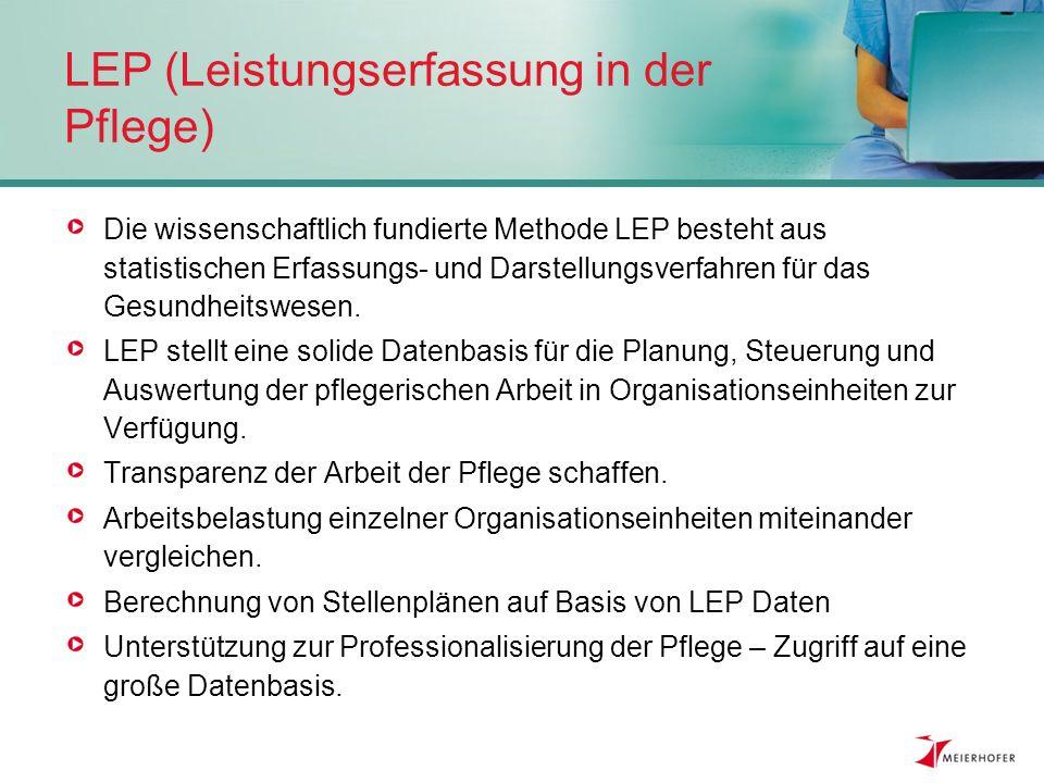 LEP (Leistungserfassung in der Pflege)