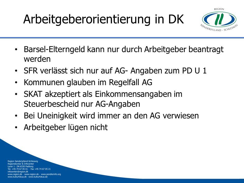 Arbeitgeberorientierung in DK