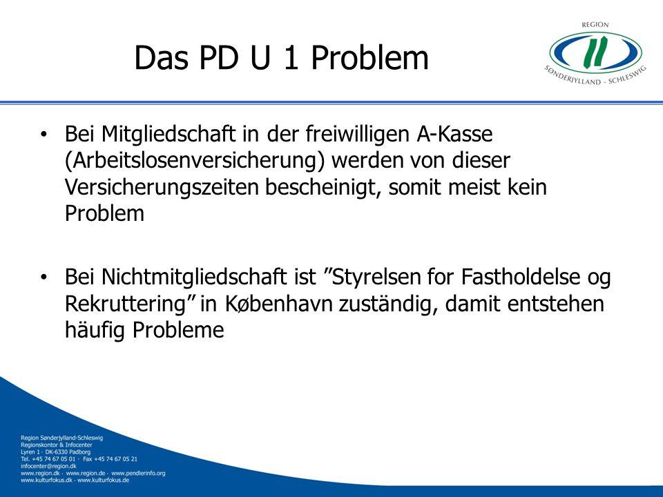 Das PD U 1 Problem