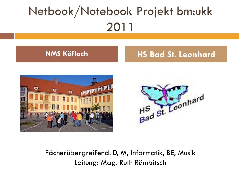 Netbook/Notebook Projekt bm:ukk 2011
