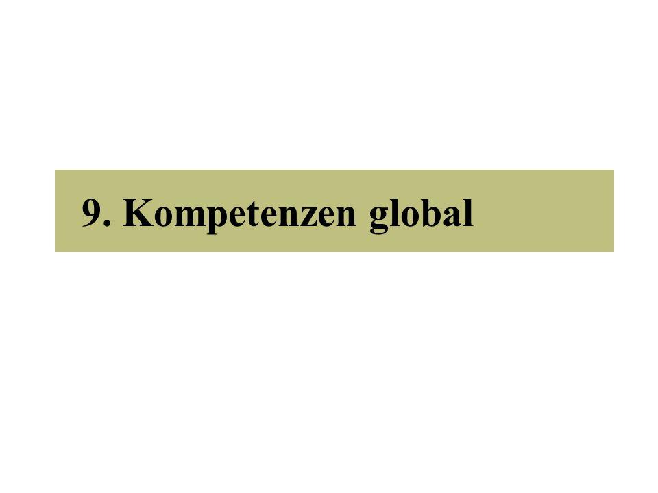 9. Kompetenzen global