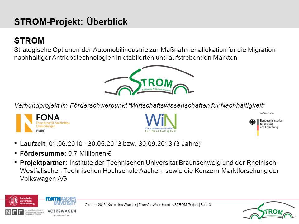 STROM-Projekt: Überblick