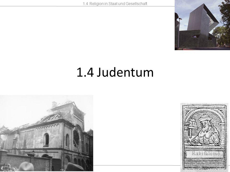 1.4 Judentum 21.08.11