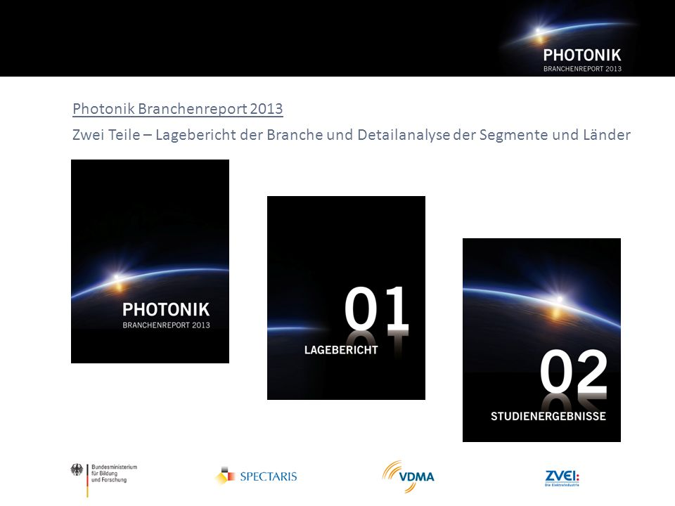 Photonik Branchenreport 2013