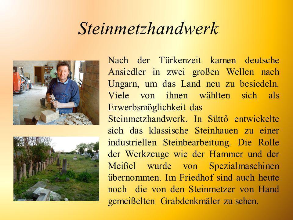 Steinmetzhandwerk