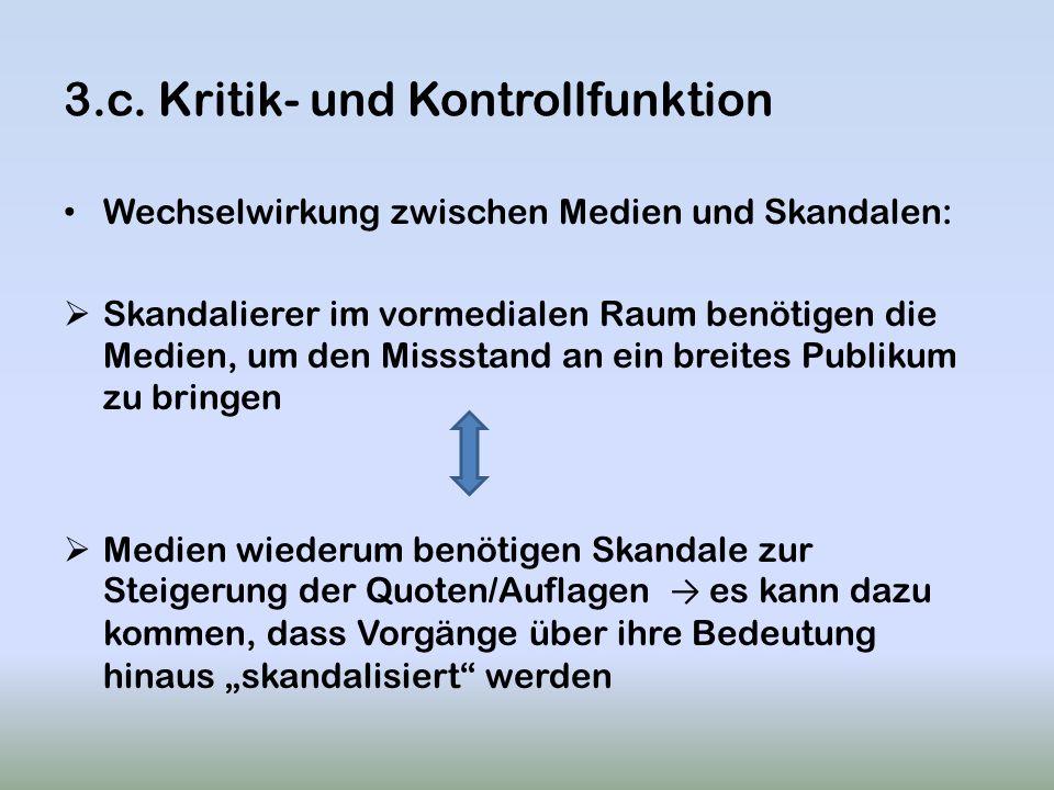 3.c. Kritik- und Kontrollfunktion