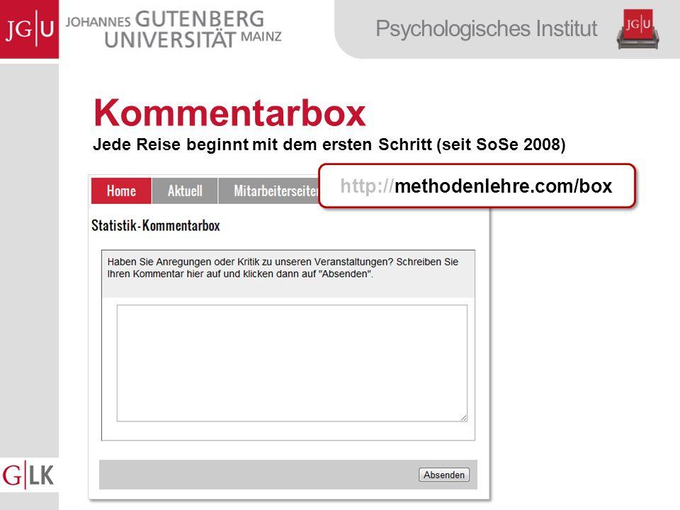 Kommentarbox http://methodenlehre.com/box