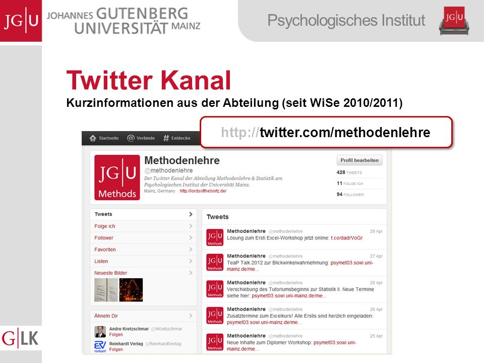 Twitter Kanal http://twitter.com/methodenlehre
