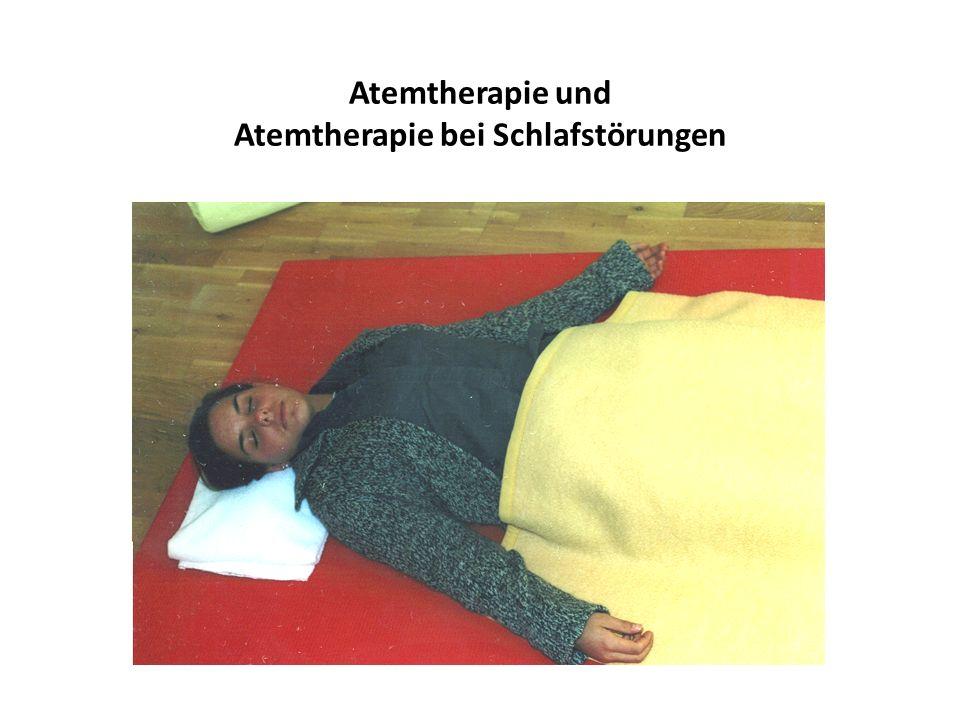 Atemtherapie und Atemtherapie bei Schlafstörungen