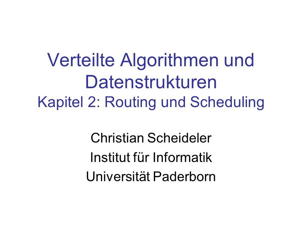 Christian Scheideler Institut für Informatik Universität Paderborn