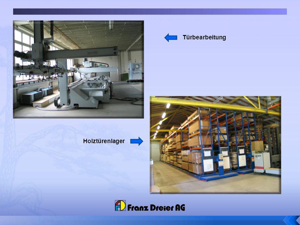 Türbearbeitung Holztürenlager