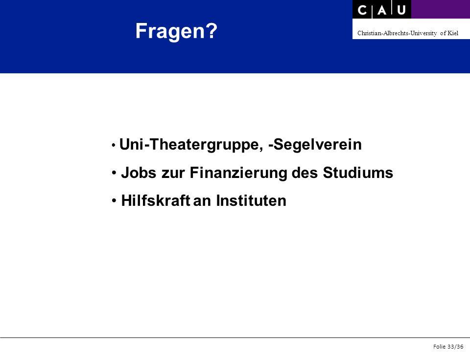 Fragen Jobs zur Finanzierung des Studiums Hilfskraft an Instituten