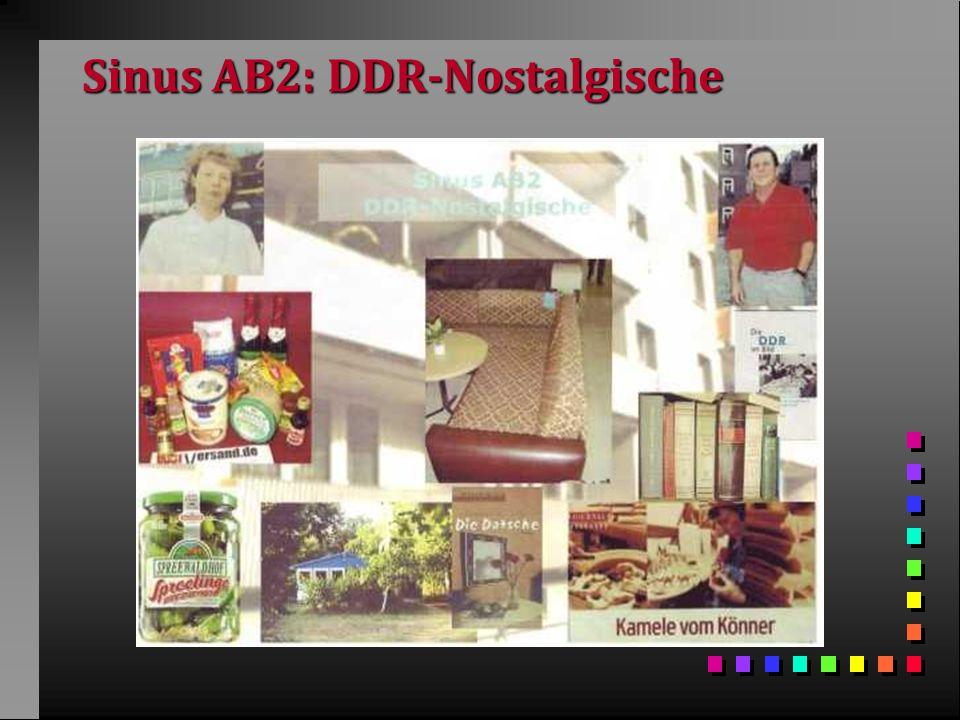 Sinus AB2: DDR-Nostalgische