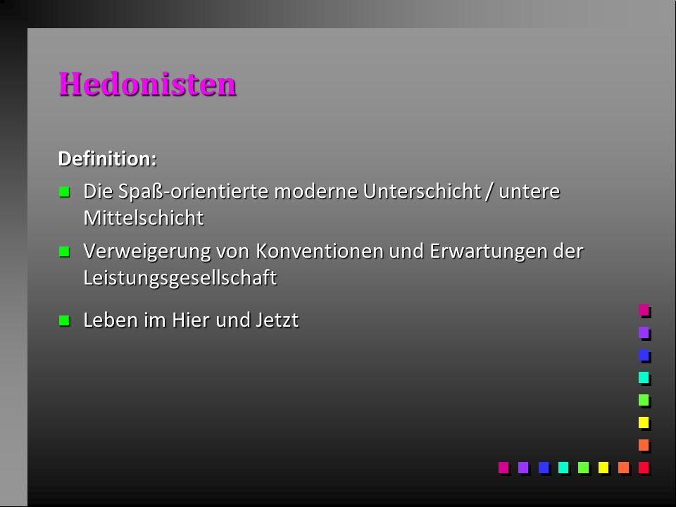 Hedonisten Definition: