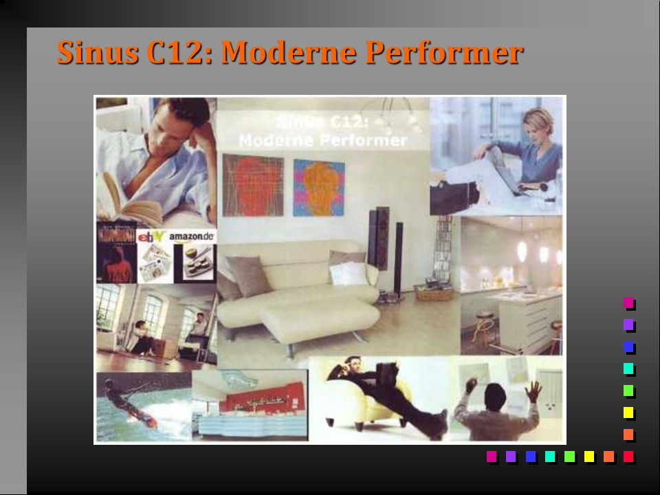 Sinus C12: Moderne Performer