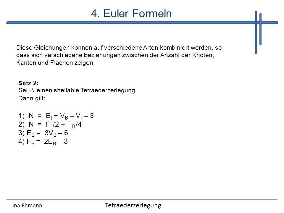 4. Euler Formeln