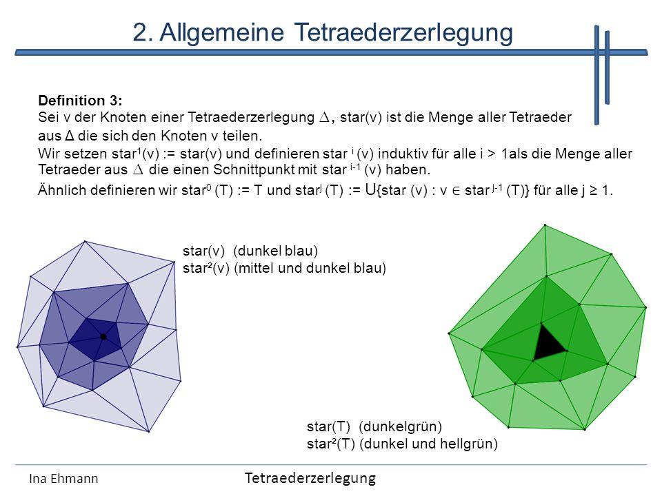 2. Allgemeine Tetraederzerlegung