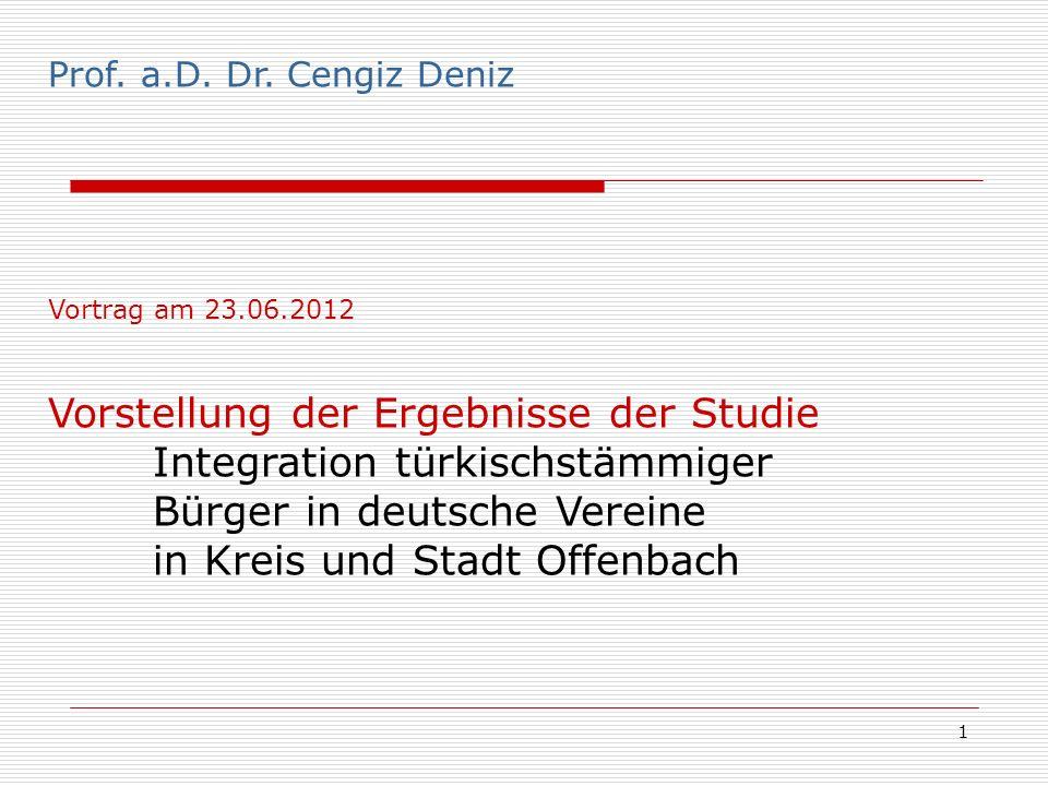 Prof. Dr. Cengiz Deniz Prof. a.D. Dr. Cengiz Deniz.