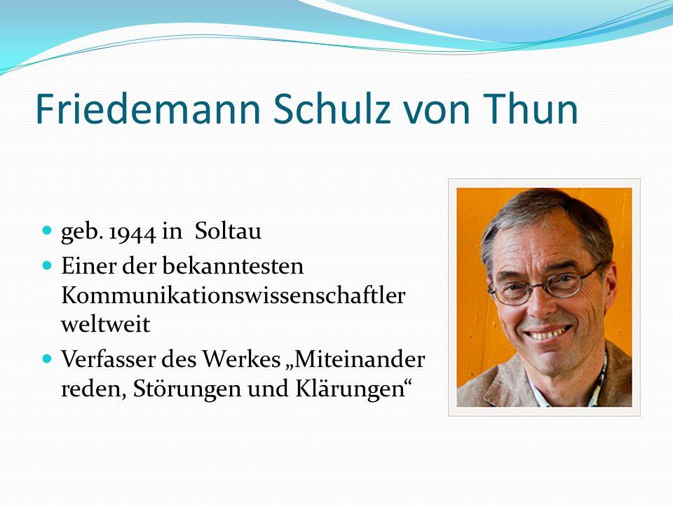 Friedemann Schulz von Thun