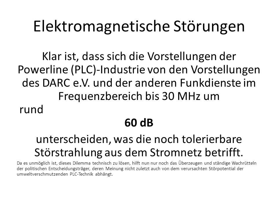 Elektromagnetische Störungen