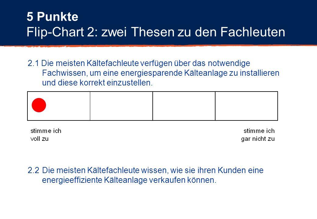 Flip-Chart 2: zwei Thesen zu den Fachleuten