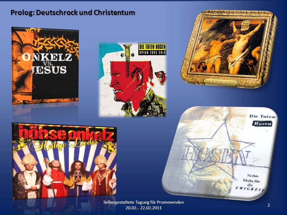 Prolog: Deutschrock und Christentum