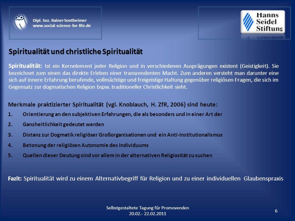Spiritualität und christliche Spiritualität
