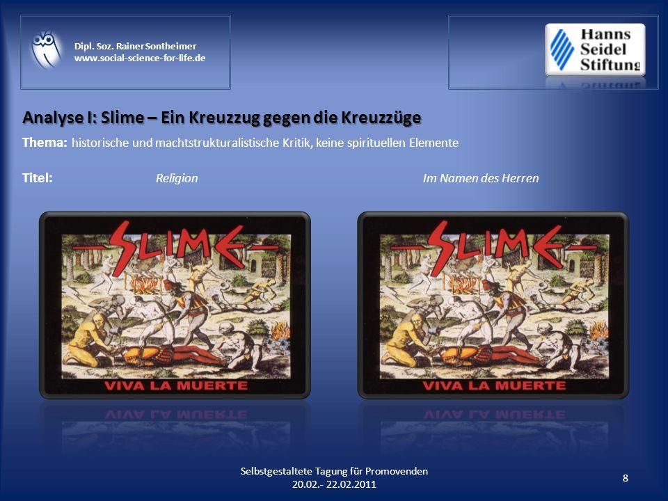 Analyse I: Slime – Ein Kreuzzug gegen die Kreuzzüge