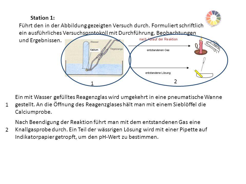 Station 1: