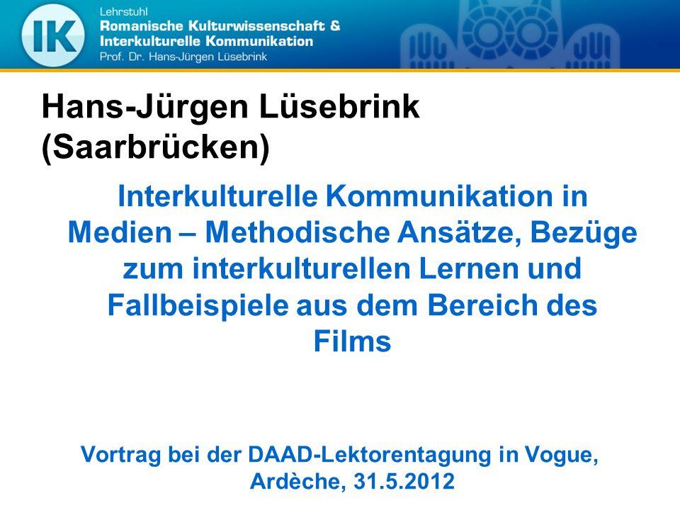Hans-Jürgen Lüsebrink (Saarbrücken)