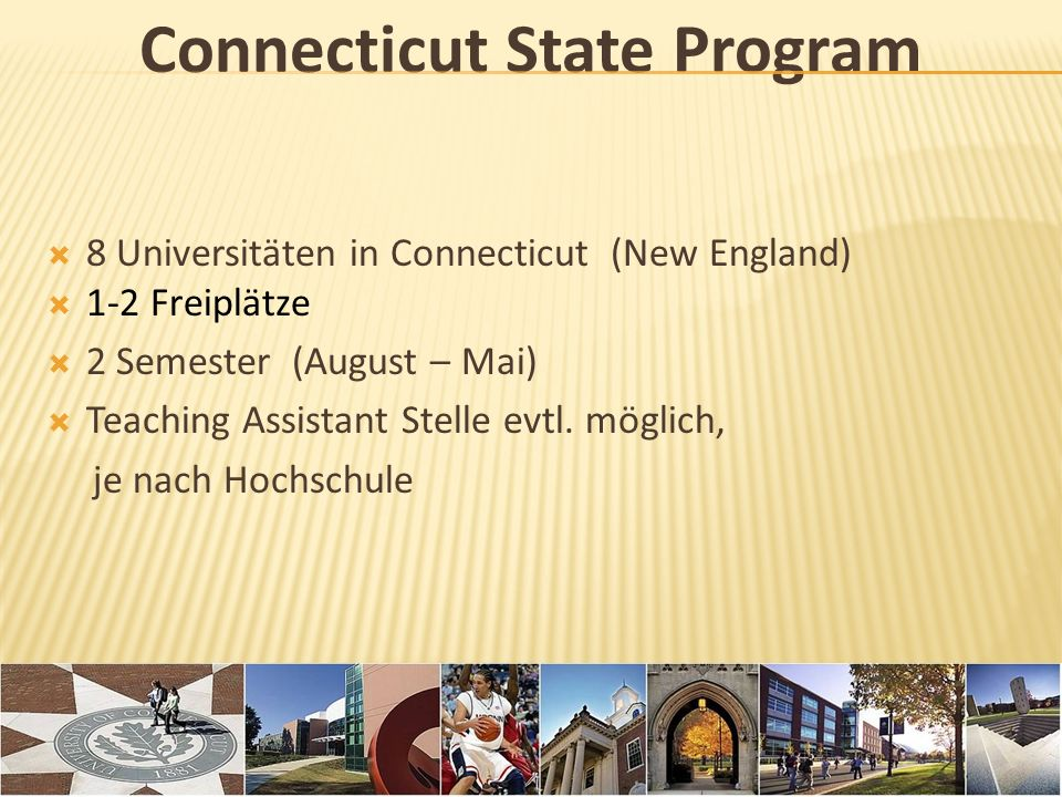 Connecticut State Program